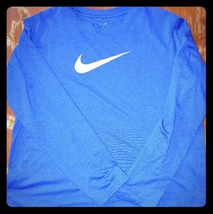 Boys Long Sleeve Nike Tee